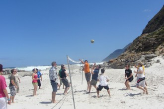 Monkey Valley Lodge Volleyball