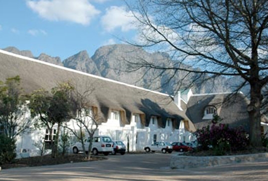 le franschoek hotel and spa outside