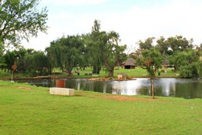 Rietvlei Zoo Farm Pond