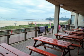 Marine Surf Lifesaving Club Deck