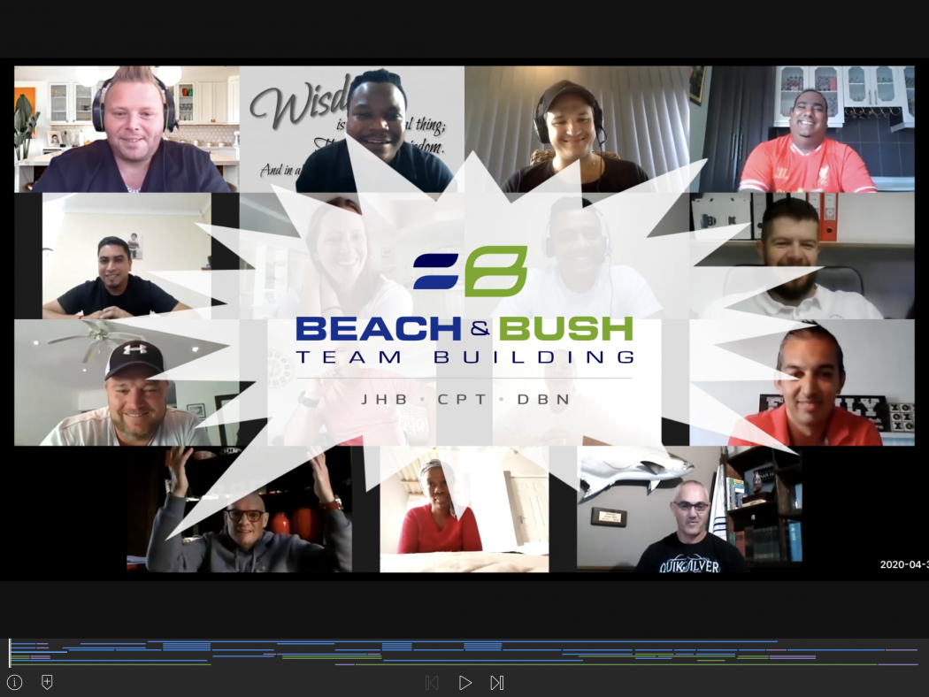 Reconnect virtual team build video